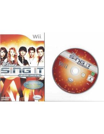 DISNEY SING IT POP HITS voor Nintendo Wii