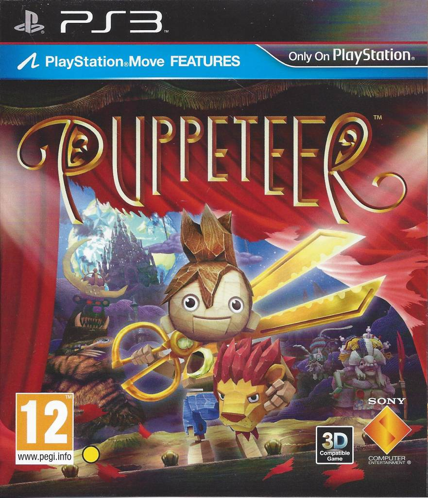 Puppeteer for Playstation 3 PS3 - Passion for Games Webshop