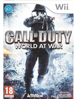 CALL OF DUTY WORLD AT WAR voor Nintendo Wii