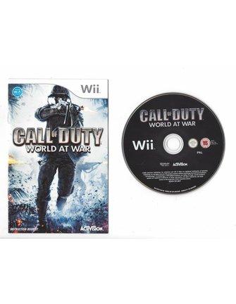 CALL OF DUTY WORLD AT WAR für Nintendo Wii