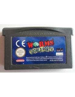 WORMS WORLD PARTY für Game Boy Advance GBA