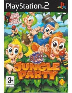 BUZZ JUNIOR JUNGLE PARTY voor Playstation 2 PS2 - manual in Nederlands, Engels, Frans