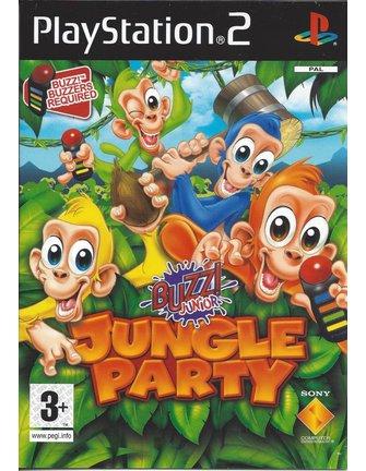 BUZZ JUNIOR JUNGLE PARTY voor Playstation 2 PS2 - handleiding in het Engels
