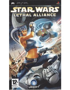 STAR WARS LETHAL ALLIANCE voor PSP
