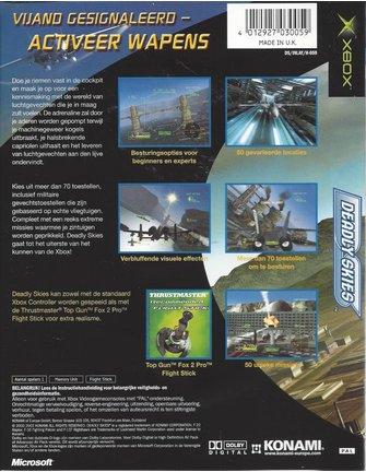 DEADLY SKIES voor Xbox