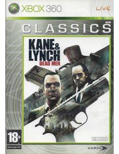 KANE & LYNCH DEAD MEN voor Xbox 360 - CLASSICS