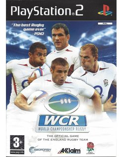 WORLD CHAMPIONSHIP RUGBY voor Playstation 2 PS2