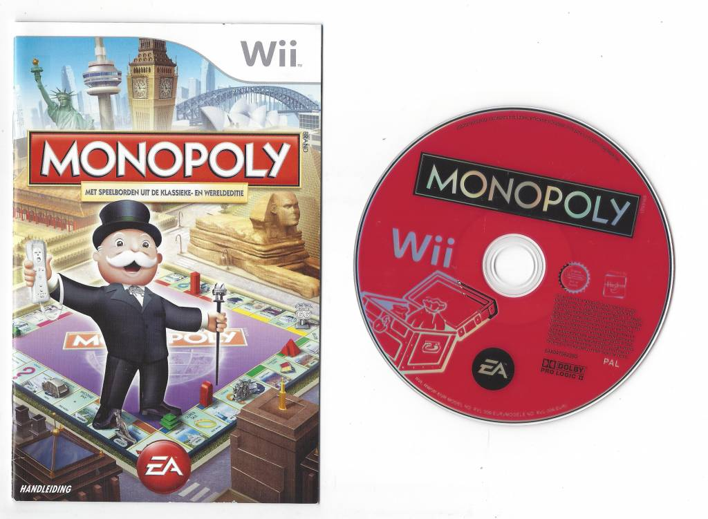 nintendo wii monopoly