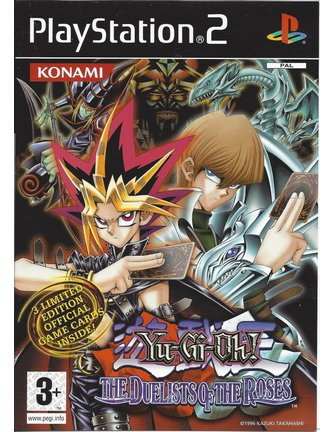YU-GI-OH THE DUELISTS OF THE ROSES for Playstation 2 PS2