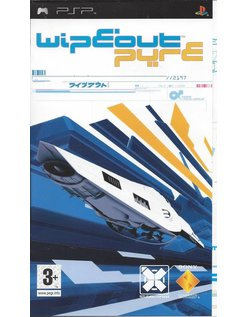WIPEOUT PURE for PSP - Anleitung in Spanisch