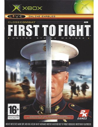 CLOSE COMBAT FIRST TO FIGHT voor Xbox