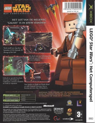 LEGO STAR WARS HET COMPUTERSPEL für Xbox