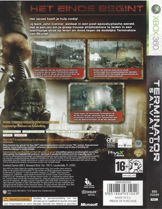 TERMINATOR SALVATION for Xbox 360