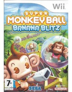 SUPER MONKEY BALL BANANA BLITZ für Nintendo Wii