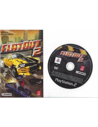 FLATOUT 2 voor Playstation 2 PS2