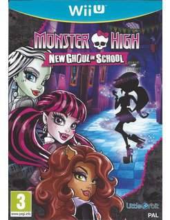 MONSTER HIGH NEW GHOUL IN SCHOOL voor Nintendo Wii U