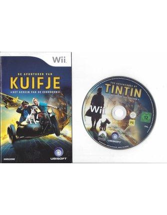DE AVONTUREN VAN KUIFJE HET GEHEIM VAN DE EENHOORN voor Nintendo Wii