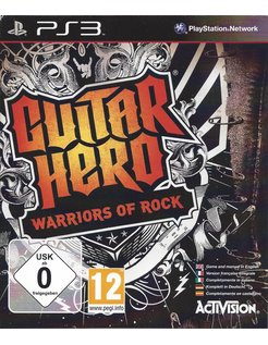 GUITAR HERO WARRIORS OF ROCK für Playstation 3 PS3