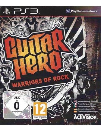GUITAR HERO WARRIORS OF ROCK für Playstation 3 PS3