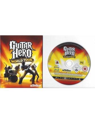 GUITAR HERO WORLD TOUR voor Playstation 3 PS3