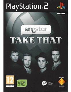 SINGSTAR TAKE THAT voor Playstation 2