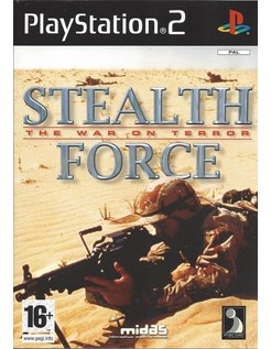 STEALTH FORCE THE WAR ON TERROR voor Playstation 2 PS2