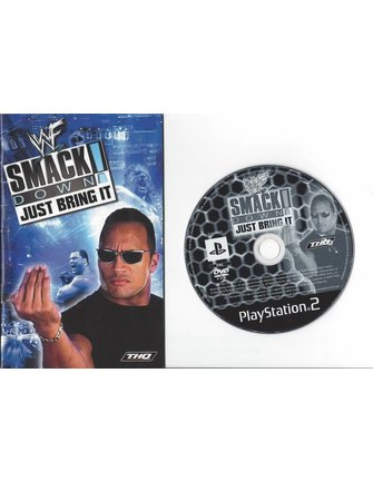 WWF SMACKDOWN JUST BRING IT for Playstation 2 PS2 - manual in English
