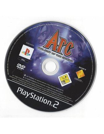 ARC TWILIGHT OF THE SPIRITS für Playstation 2 PS2