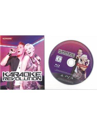 KARAOKE REVOLUTION voor Playstation 3 PS3