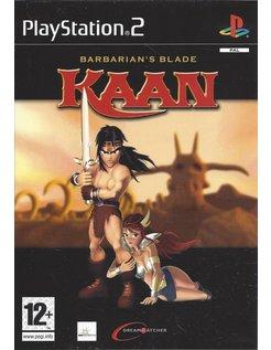 KAAN BARBARIAN'S BLADE voor Playstation 2 PS2