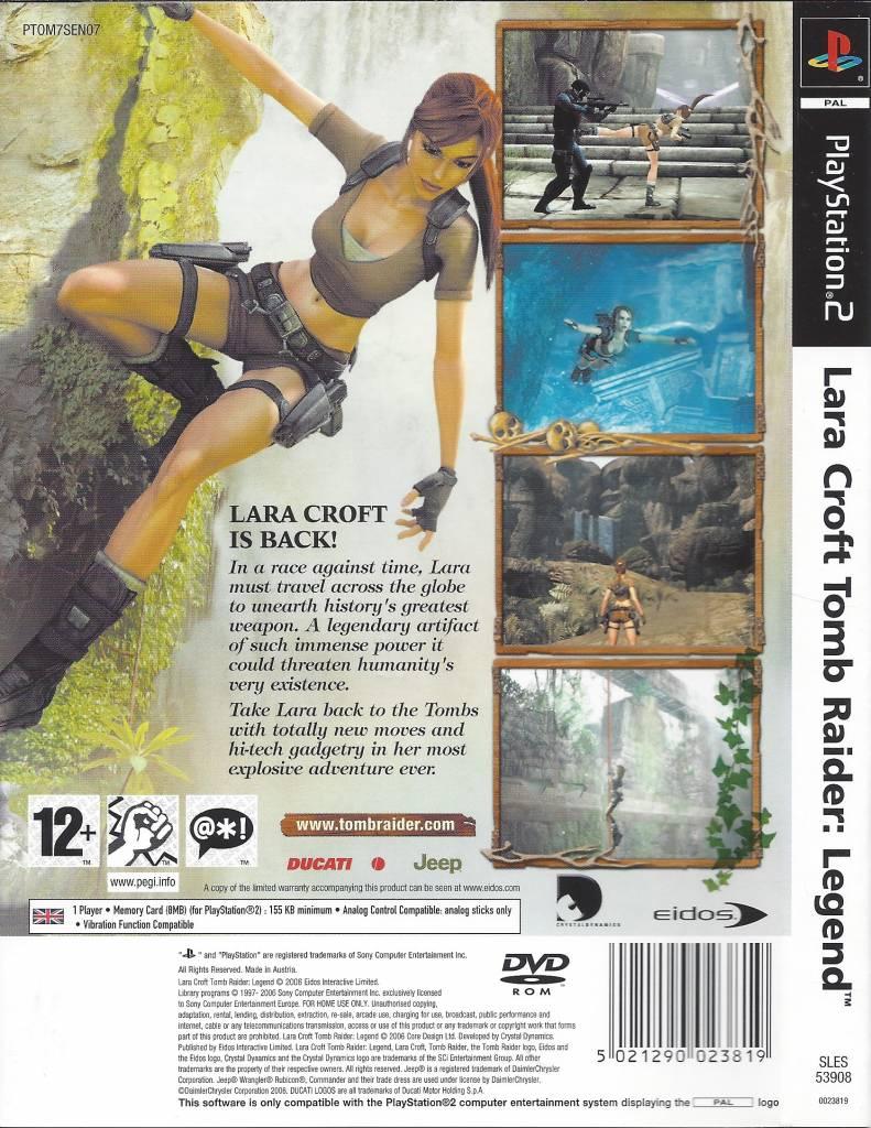 Lara Croft Tomb Raider Legend For Playstation 2 Ps2 Passion For Games Webshop Passion For Games