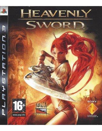 HEAVENLY SWORD voor Playstation 3 PS3