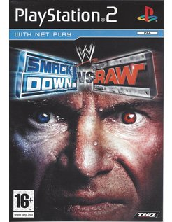WWE SMACKDOWN VS RAW for Playstation 2 PS2