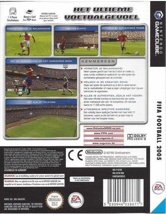 FIFA FOOTBALL 2005 voor Nintendo Gamecube