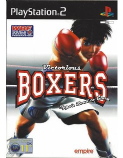 VICTORIOUS BOXERS voor Playstation 2 PS2