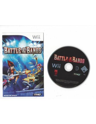 BATTLE OF THE BANDS Nintendo Wii