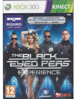 THE BLACK EYED PEAS EXPERIENCE voor Xbox 360 Kinect