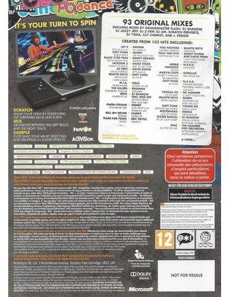 DJ HERO voor Xbox 360