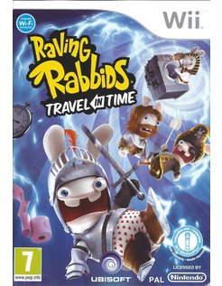 RAVING RABBIDS TRAVEL IN TIME voor Nintendo Wii
