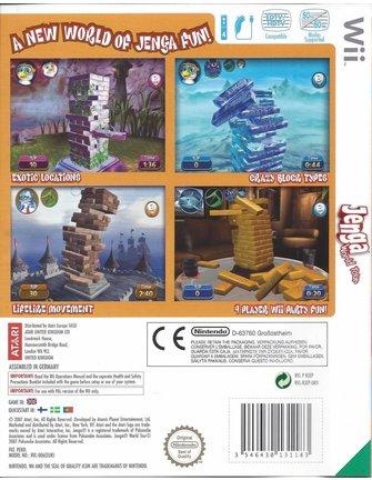 JENGA WORLD TOUR voor Nintendo Wii
