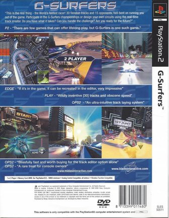 G-SURFERS für Playstation 2 PS2