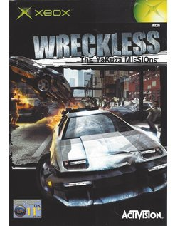 WRECKLESS THE YAKUZA MISSIONS für Xbox