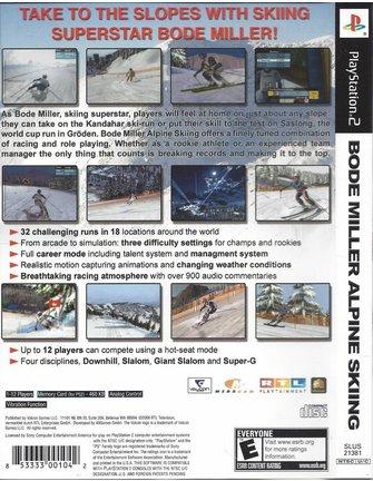 BODE MILLER ALPINE SKIING voor Playstation 2 PS2 - NTSC