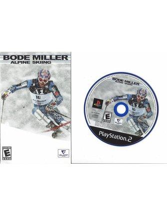 BODE MILLER ALPINE SKIING für Playstation 2 PS2 - NTSC