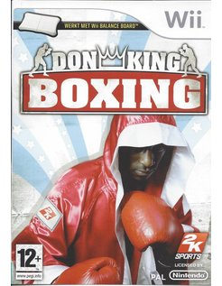 DON KING BOXING for Nintendo Wii