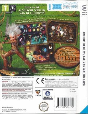 ARTHUR EN DE WRAAK VAN MALTHAZARD voor Nintendo Wii