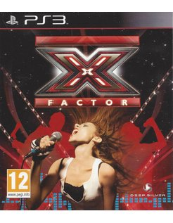 X FACTOR - X-FACTOR voor Playstation 3