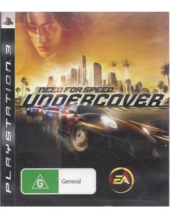 NEED FOR SPEED UNDERCOVER für Playstation 3