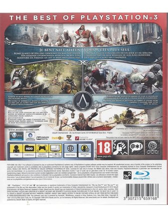 ASSASSIN'S CREED BROTHERHOOD für Playstation 3 PS3