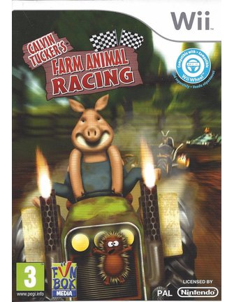 CALVIN TUCKER'S FARM ANIMAL RACING voor Nintendo Wii